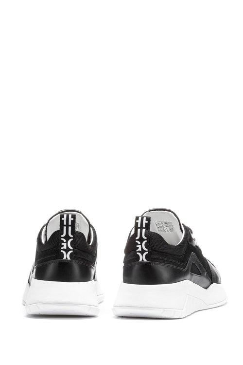 Hugo Boss - Robuste Sneakers aus Leder und Material-Mix mit Logo-Schlaufe - 5