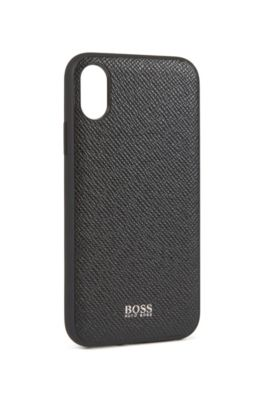 new concept 24749 72bae Signature Collection smartphone cover in embossed palmellato leather