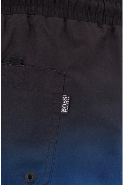 Hugo Boss - Bañador tipo shorts de secado rápido con estampado digital - 2