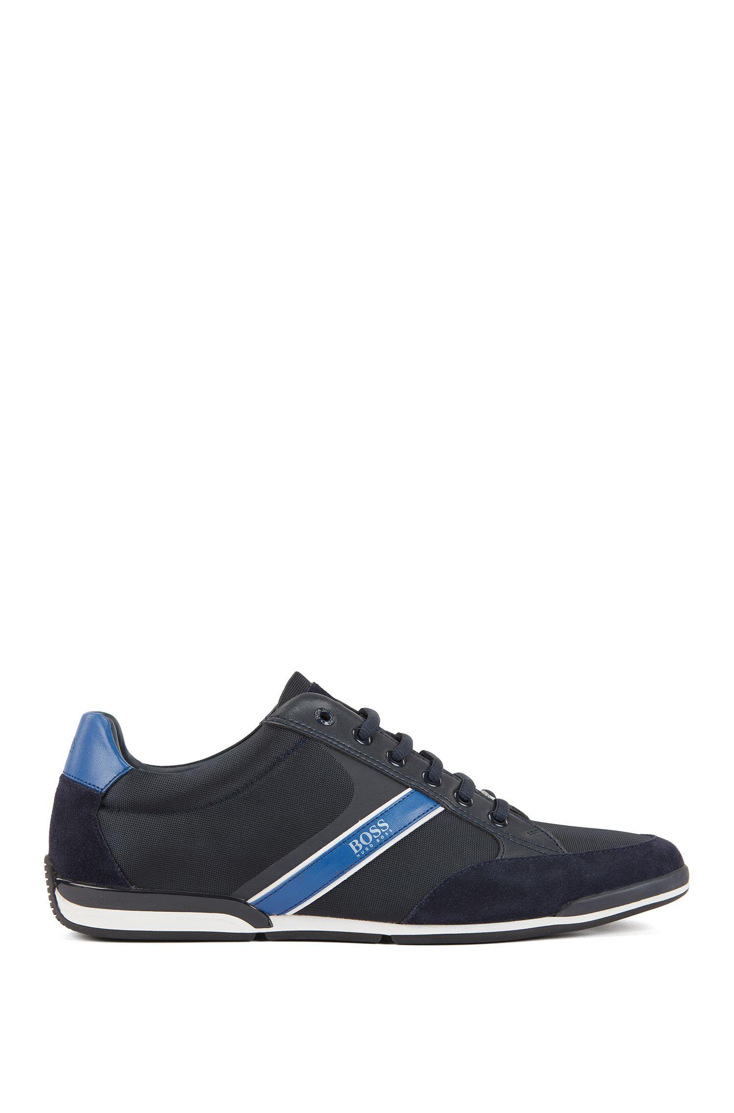 Hybride vetersneakers met vochtafdrijvende voering, Donkerblauw