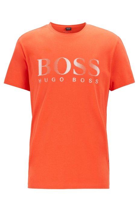 T-Shirt aus nachhaltiger Baumwolle mit UPF50+, Rot
