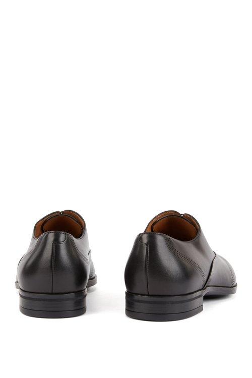 Hugo Boss - Oxford-Schuhe aus Leder mit gelaserten Details - 5