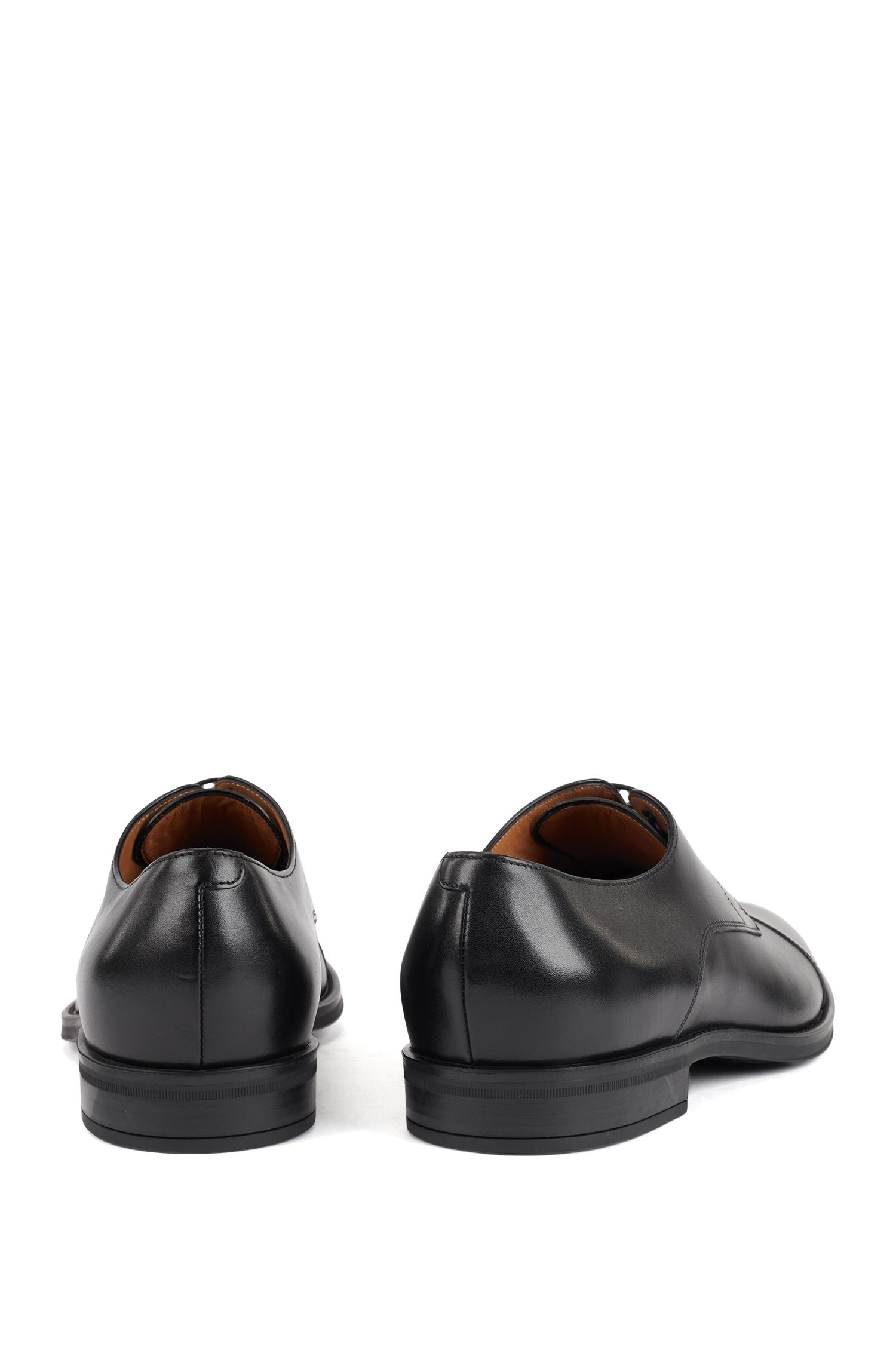 Hugo Boss - Derby shoes in burnished calf leather - 6