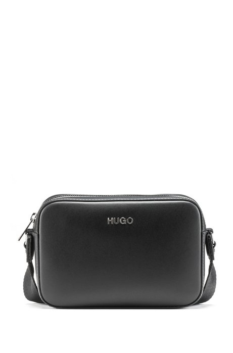 840fd608b65 HUGO - Crossbody bag in Italian leather with logo strap