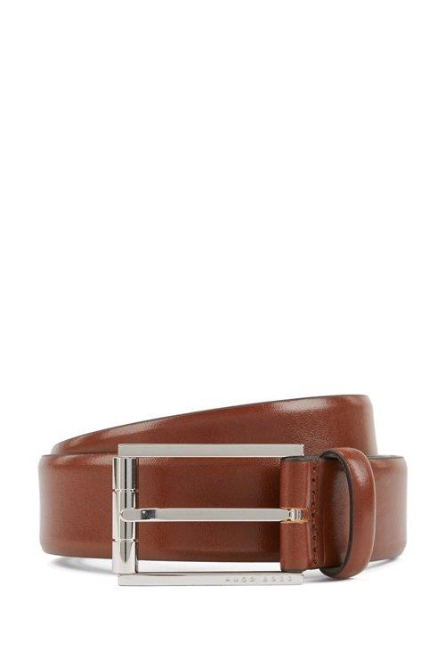 Hugo Boss - Gürtel aus italienischem Leder mit polierter Rollschließe - 1