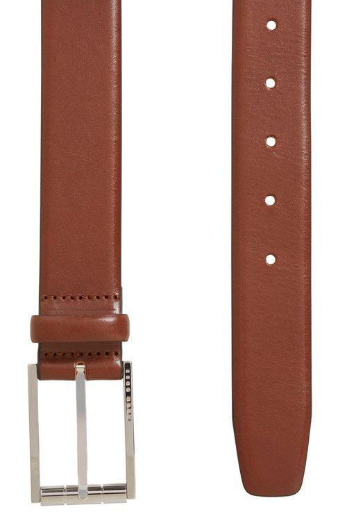 Hugo Boss - Gürtel aus italienischem Leder mit polierter Rollschließe - 3
