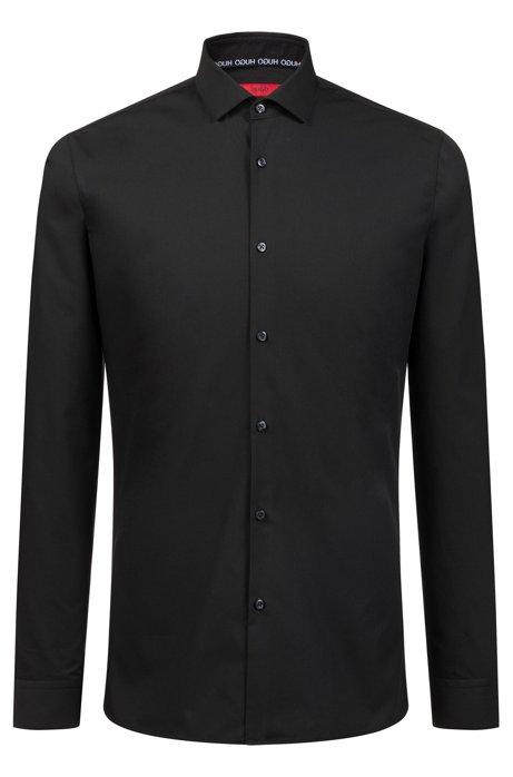 HUGO - Camisa de algodón extra slim fit de planchado fácil 5eaa6ccde63