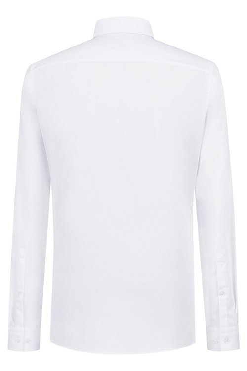 Hugo Boss - Extra-slim-fit cotton shirt with easy-iron finishing - 4