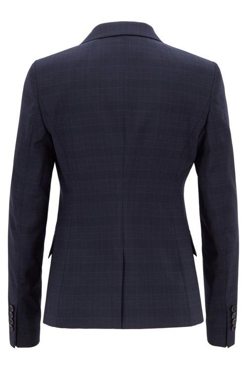 Hugo Boss - Americana regular fit en lana italiana a cuadros - 3