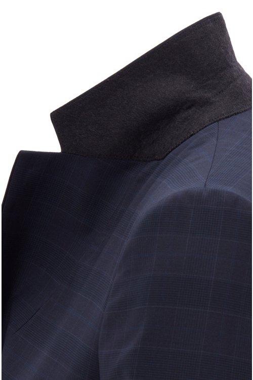 Hugo Boss - Americana regular fit en lana italiana a cuadros - 5