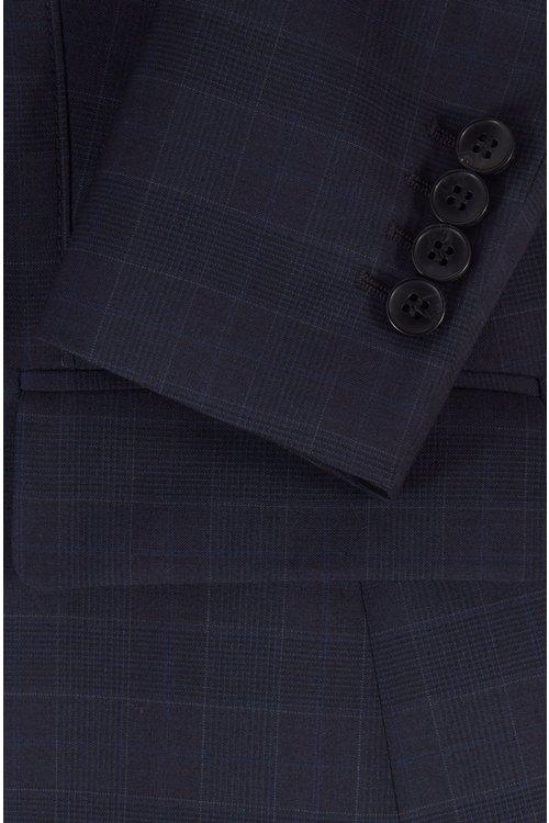 Hugo Boss - Americana regular fit en lana italiana a cuadros - 6