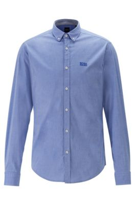pretty nice a6d8f 24538 Regular-Fit Button-Down-Hemd aus Stretch-Baumwolle mit  Feuchtigkeitsregulierung