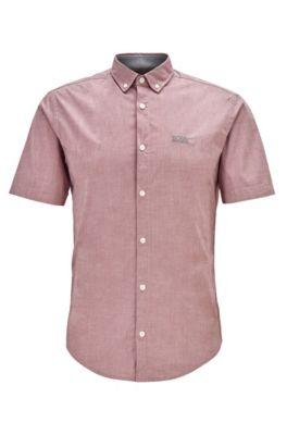 Hugo Boss Men`s Biadia/_R Short Sleeves Shirt 50408874