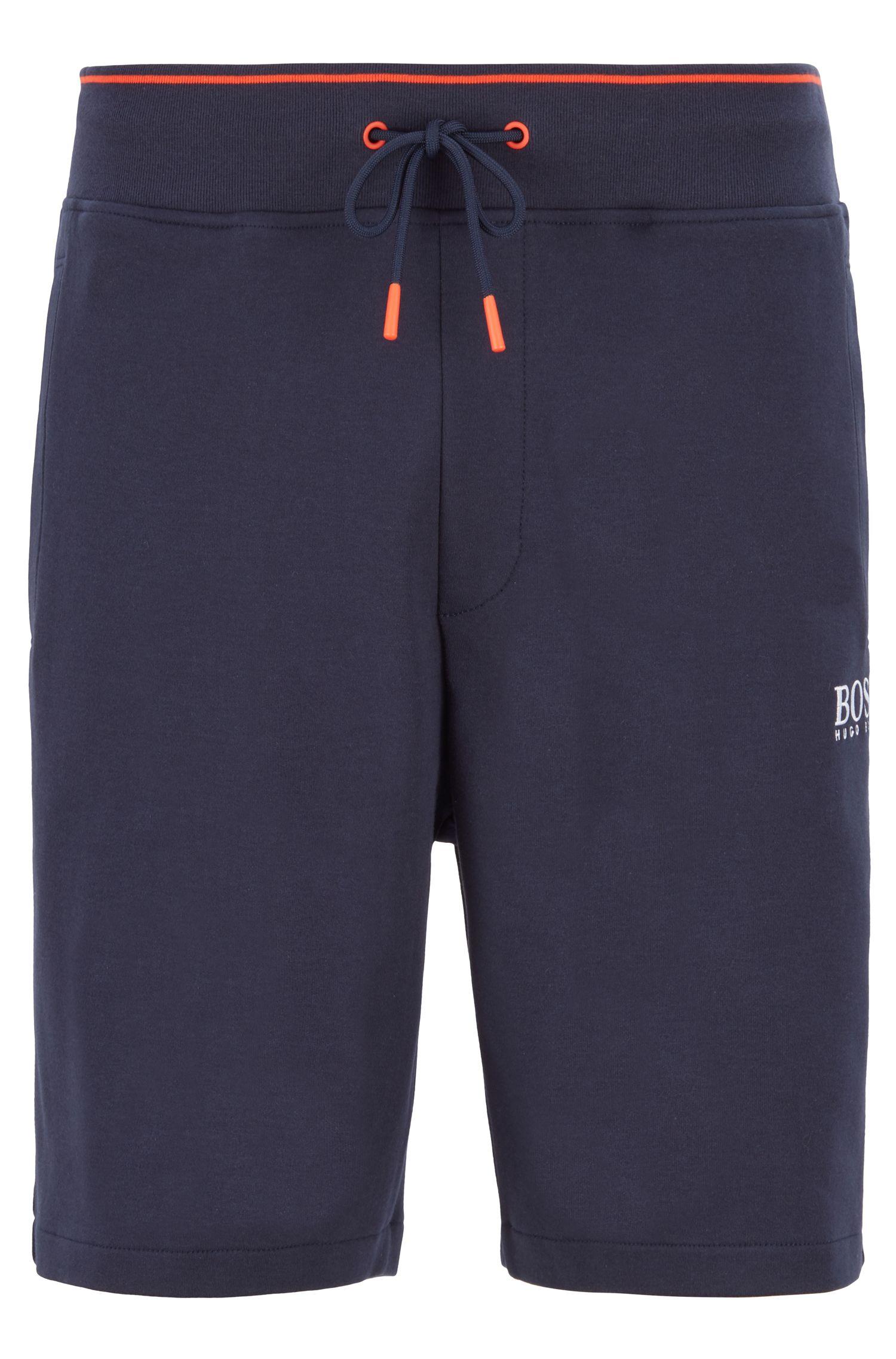 Loungewear shorts with Coolest Comfort finishing, Dark Blue