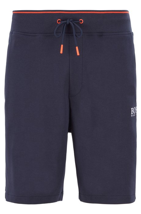 Loungewearshort met Coolest Comfort-finish, Donkerblauw