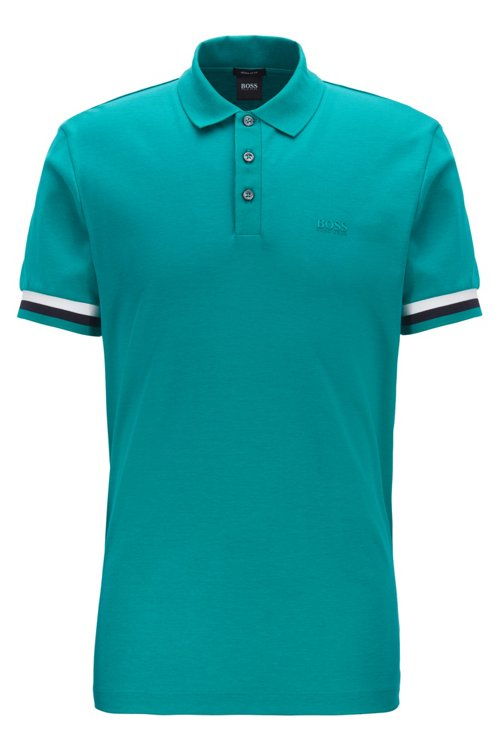 Hugo Boss - Polo regular fit en algodón interlock - 1