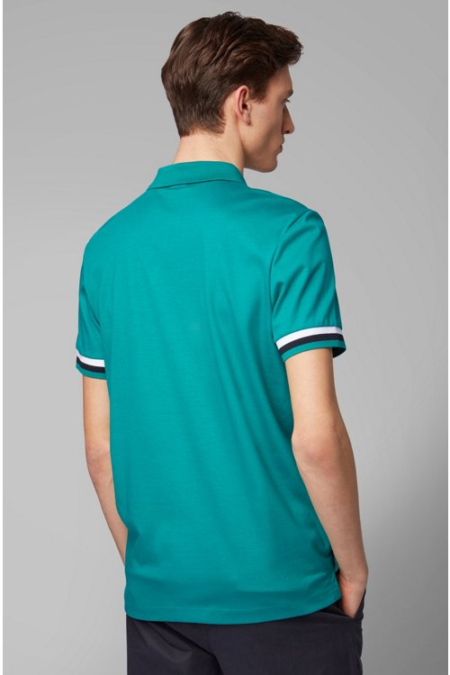 Hugo Boss - Polo regular fit en algodón interlock - 4