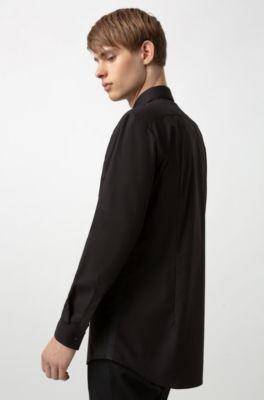 Feestelijk Overhemd.Smoking Overhemden Voor Heren Hugo Boss Stijlvol Klassiek