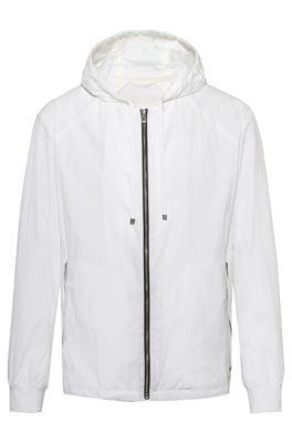 9d0136fc Jackets and Coats in White by HUGO | HUGO BOSS | Men