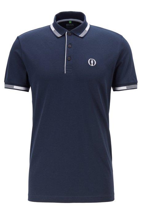 The Open Exclusive polo shirt with S.Café®, Dark Blue