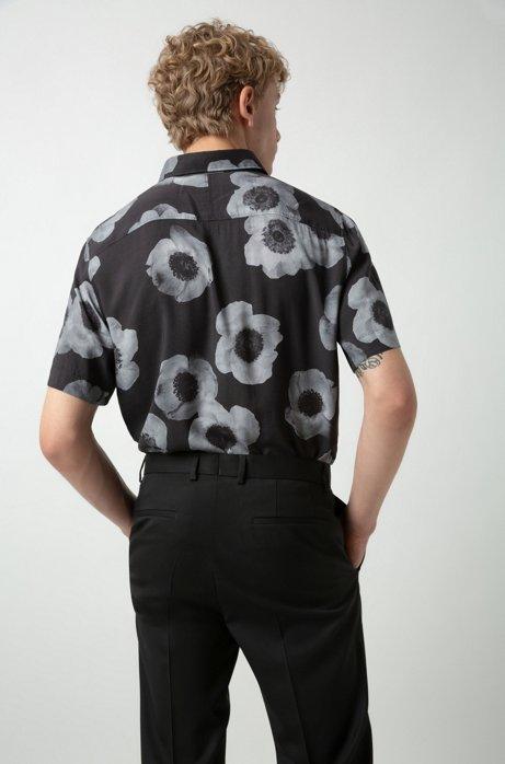 grande vente 5d25f 6d0e3 HUGO - Costume Extra Slim Fit en twill de laine vierge, avec ...