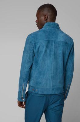 524e18fef HUGO BOSS | Leather Jackets for Men | Premium Lambskin Jackets