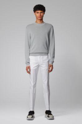 Hugo Boss T-Delaware1-Edge Mens Linen Straight Leg Jeans US 36//34 IT 36//34