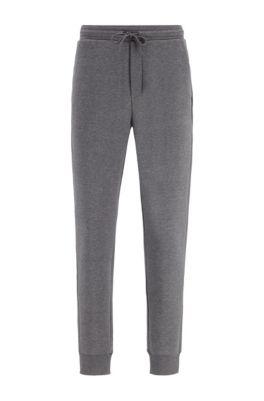 Pantalon de jogging Slim Fit à logo superposé, Gris