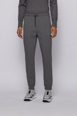 Pantalon de jogging Slim Fit à logo superposé, Gris