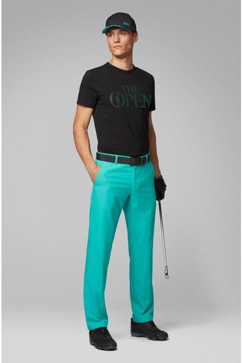 Hugo Boss - T-shirt à logo The Open exclusif en jersey de coton stretch - 3