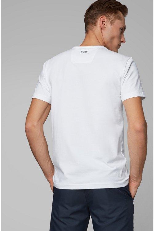 Hugo Boss - Camiseta con logo exclusivo The Open en punto de algodón elástico - 4