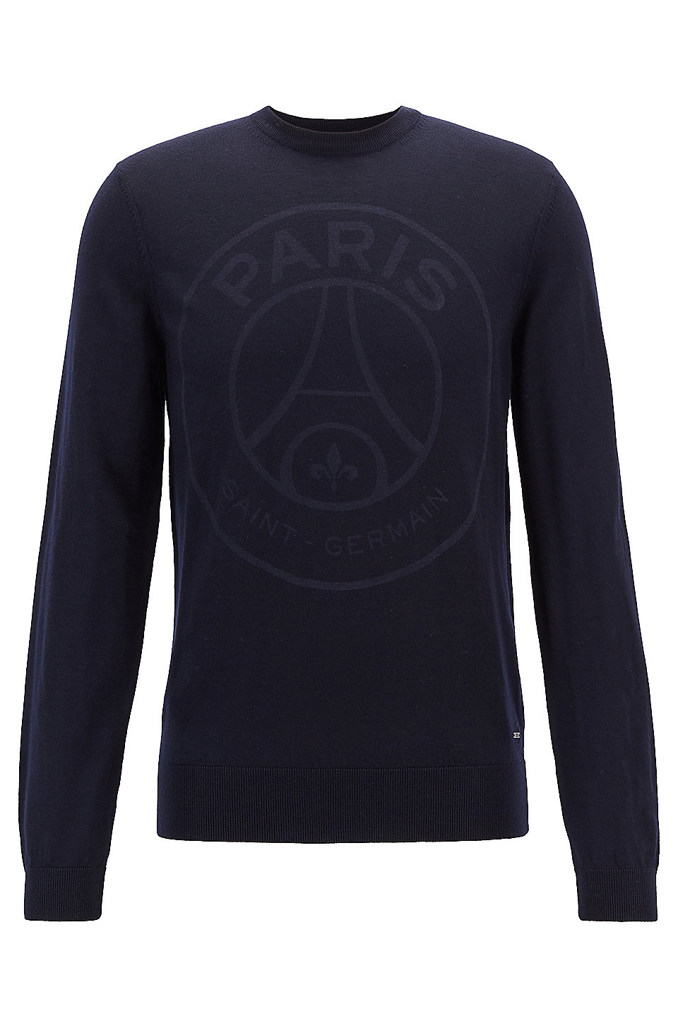 05b84c6d6 BOSS - Limited-edition wool sweater with Paris Saint-Germain logo