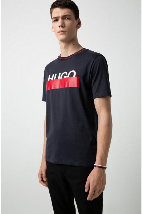 Hugo Boss - Three-strap cuff in nappa leather with logo closure - 2