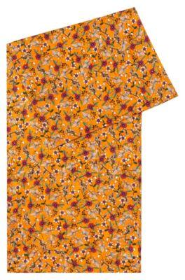 Sjaal van een zijdemix met bloemenprint, Bedrukt