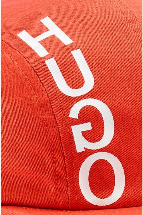 Hugo Boss - Gorra con el logo invertido en tejido de gabardina de algodón - 4
