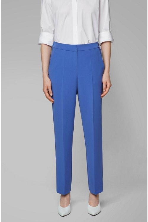 Hugo Boss - Pantalones relaxed fit con cintura elástica en la parte trasera - 2