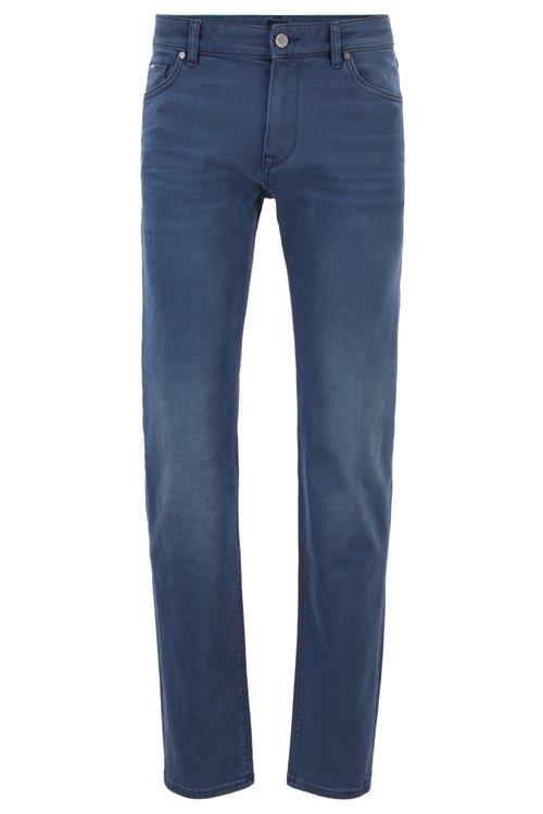 Hugo Boss - Regular-fit jeans in sulphur-dyed comfort-stretch denim - 1