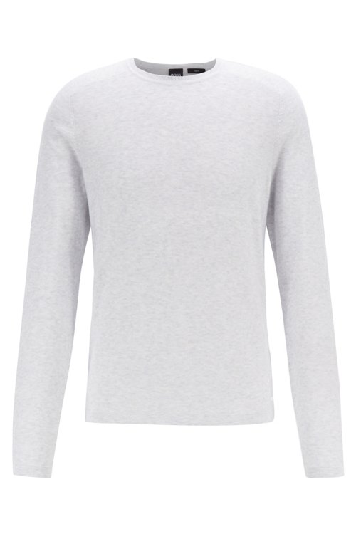 Hugo Boss - Jersey slim fit tejido con diferentes técnicas - 1