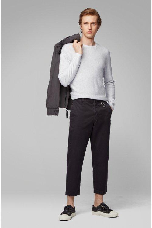 Hugo Boss - Jersey slim fit tejido con diferentes técnicas - 2