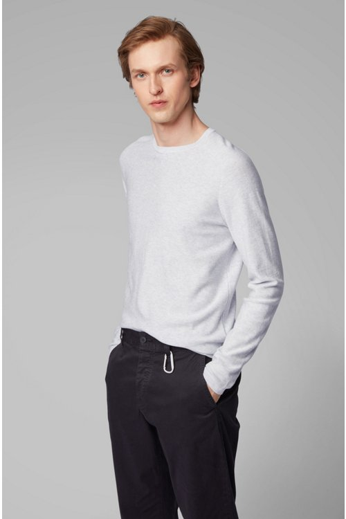 Hugo Boss - Jersey slim fit tejido con diferentes técnicas - 3