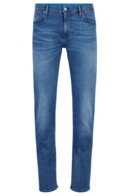 Extra Slim-Fit Jeans aus italienischem Denim, Blau