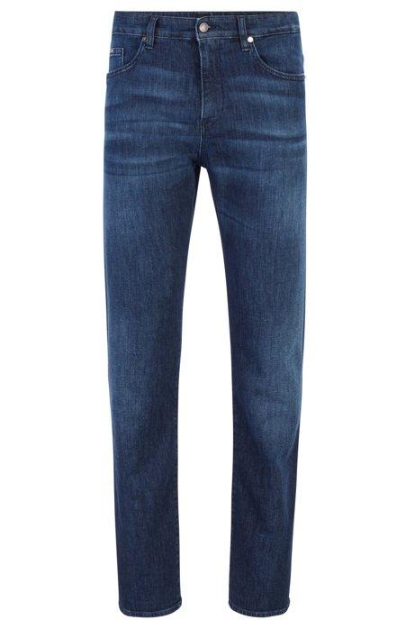 Slim-Fit Jeans aus umweltfreundlichem italienischem Denim, Blau