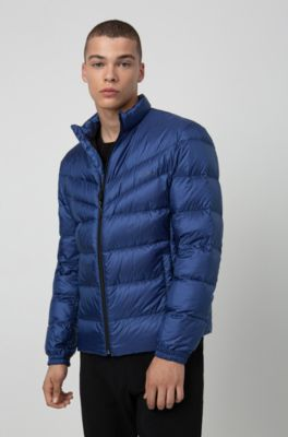 2019 original hot-selling clearance complete in specifications Regular-fit water-repellent down jacket with reverse logos