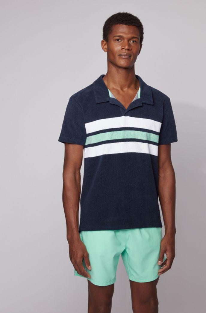 Strand-Poloshirt aus Terry