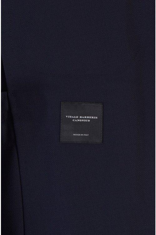 Hugo Boss - Traje slim fit en lana virgen con microestampado - 10