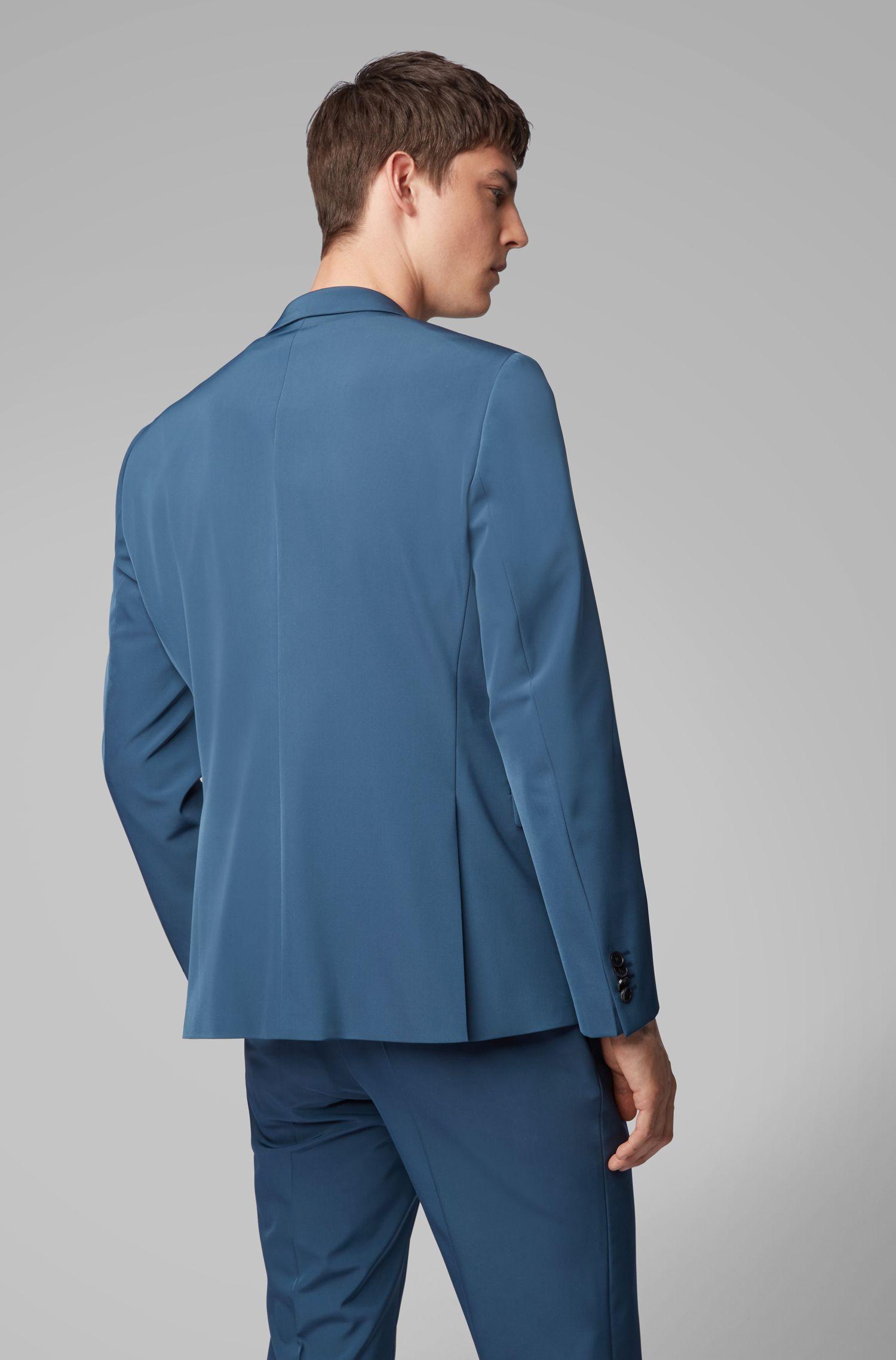 Costume Extra Slim Fit à la finition sans coutures, Bleu