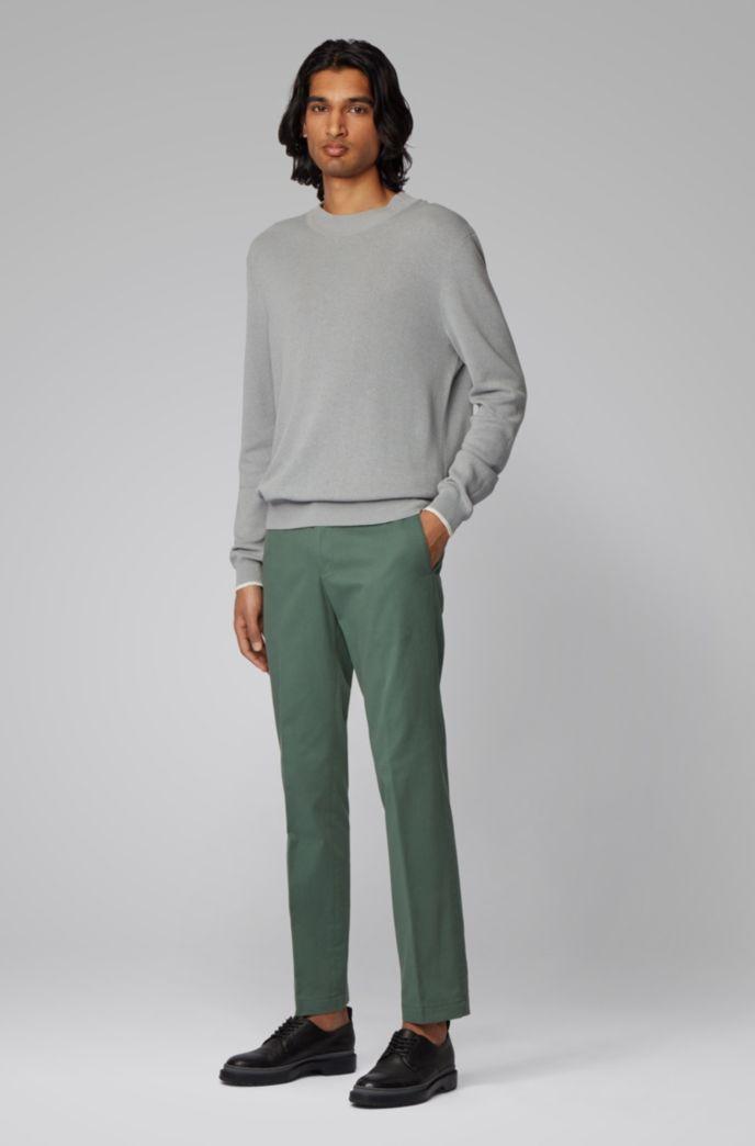 Pantalon SlimFit en coton stretch lavé