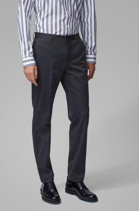 Pantalon SlimFit en coton stretch lavé, Bleu