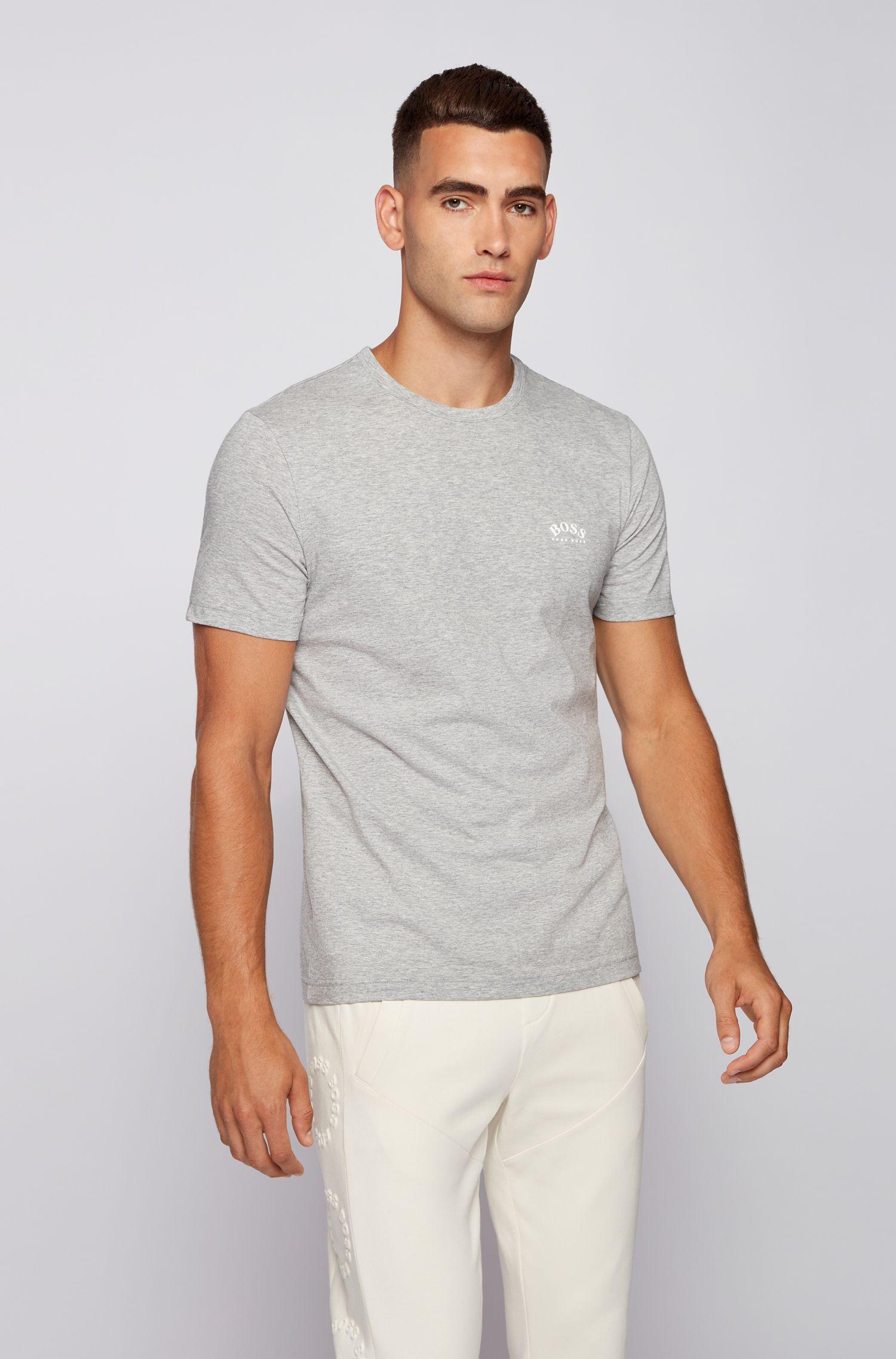 HUGO BOSS 雨果博斯 纯棉 男式短袖T恤 S码4.6折$26.66 海淘转运到手约¥185