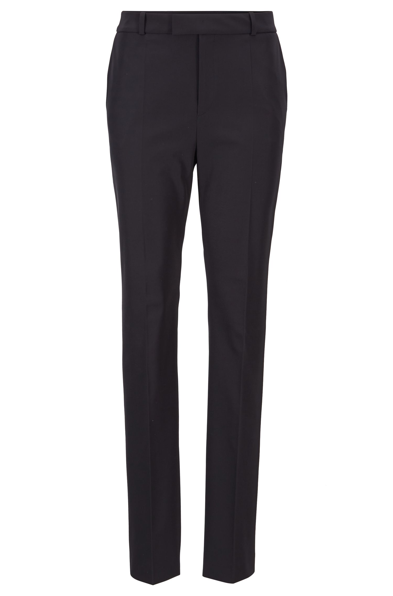 Relaxed-fit broek uit de Fashion Show, van Italiaans stretch-twill, Donkerblauw